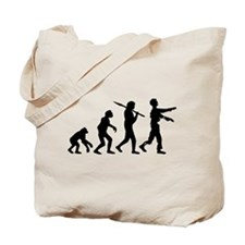 evolution_of_zombie Tote Bag
