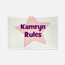 Kamryn Rules Rectangle Magnet