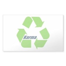 Karma Symbol Decal