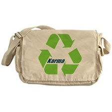 Karma Symbol Messenger Bag