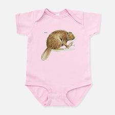 Beaver Animal Infant Bodysuit