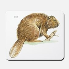Beaver Animal Mousepad