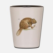 Beaver Animal Shot Glass