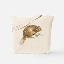 Beaver Animal Tote Bag