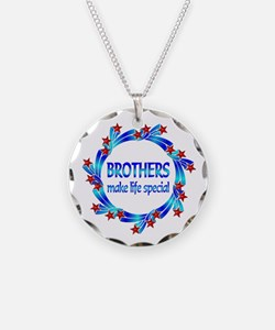 Brothers are Special Necklace