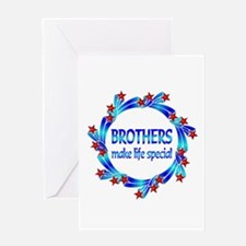 Brothers are Special Greeting Card