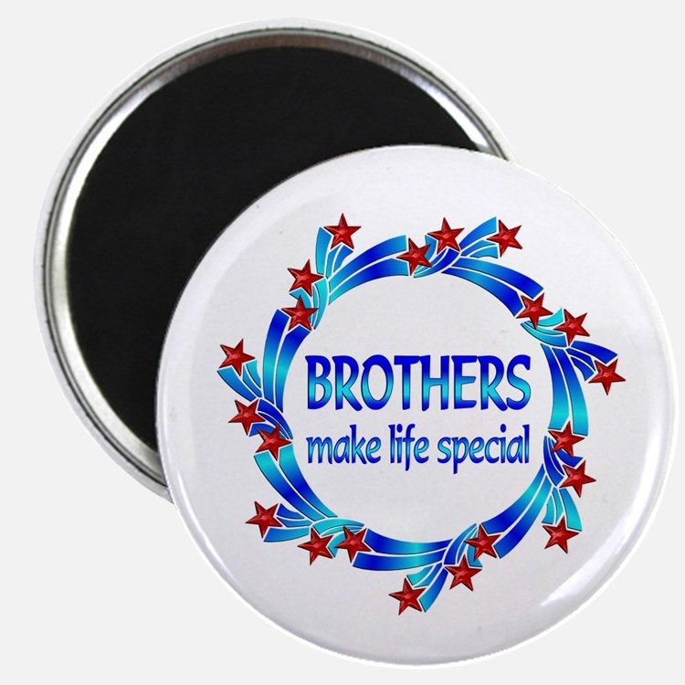 """Brothers are Special 2.25"""" Magnet (10 pack)"""