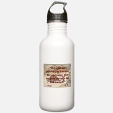 It Is With Our Passions - Aesop Water Bottle
