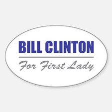 First Lady Oval Decal