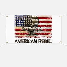 Flag-painted-American Rebel-3 Banner