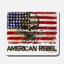 Flag-painted-American Rebel-3 Mousepad