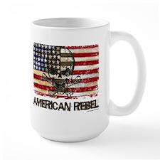 Flag-painted-American Rebel-3 Mug