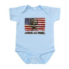Flag-painted-American Rebel-3 Body Suit