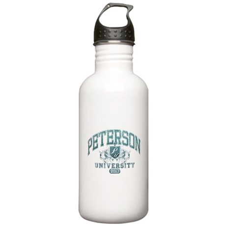 Peterson last name University Class of 2013 Water