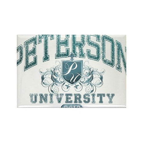 Peterson last name University Class of 2013 Rectan