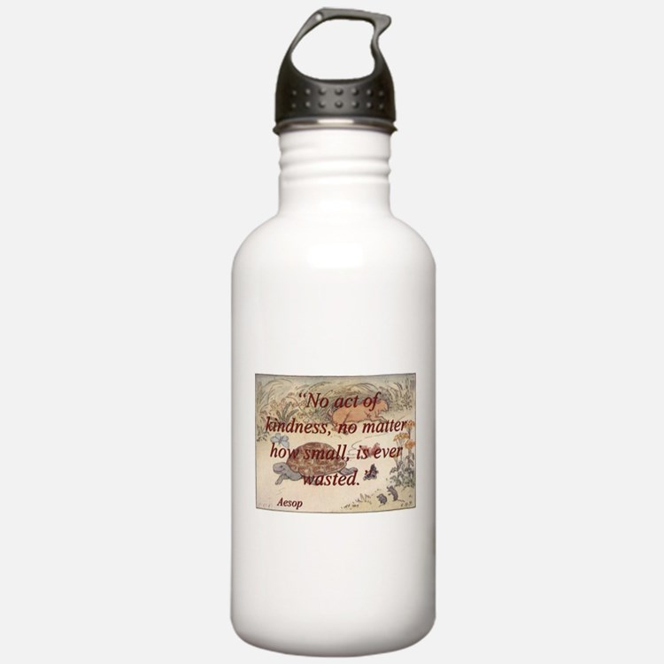No Act Of Kindness - Aesop Water Bottle