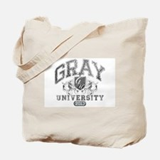 Gray Last name University Class of Tote Bag