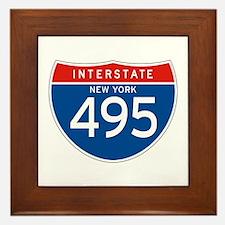 Interstate 495 - NY Framed Tile