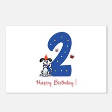 Second Birthday Dog Postcards (Package of 8)