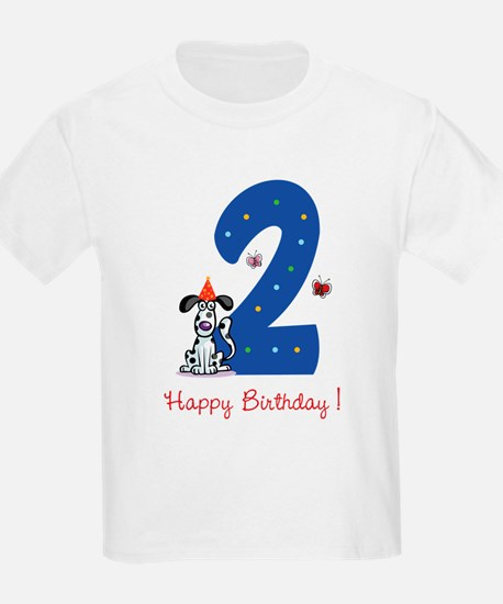 Second Birthday Dog T-Shirt