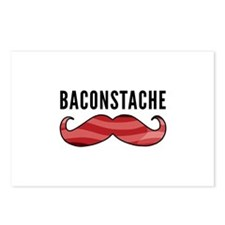 Baconstache Postcards (Package of 8)