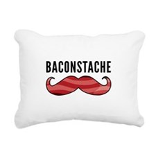 Baconstache Rectangular Canvas Pillow