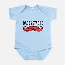 Baconstache Infant Bodysuit