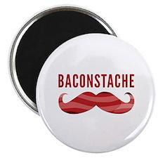 "Baconstache 2.25"" Magnet (10 pack)"
