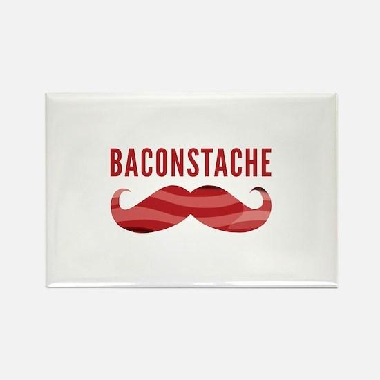 Baconstache Rectangle Magnet