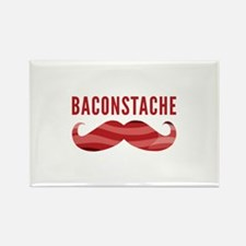 Baconstache Rectangle Magnet (100 pack)