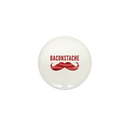 Baconstache Mini Button (10 pack)