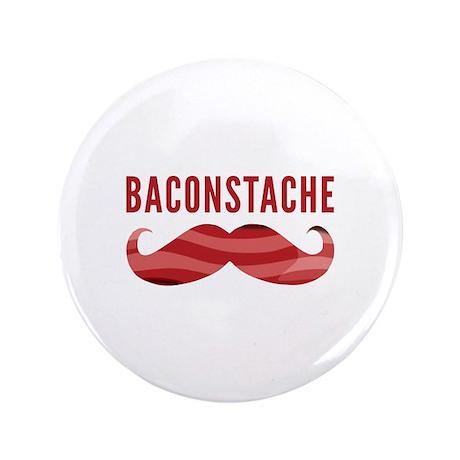 "Baconstache 3.5"" Button (100 pack)"