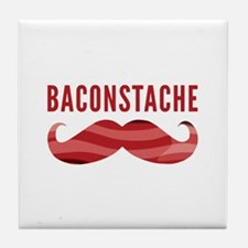 Baconstache Tile Coaster