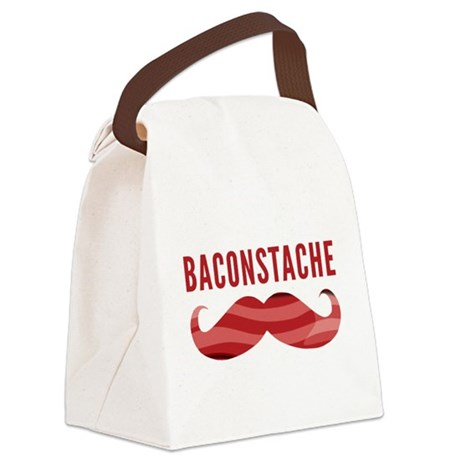 Baconstache Canvas Lunch Bag