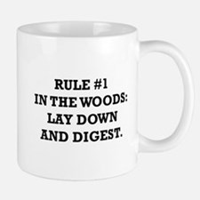 Rule #1 in the Woods: Lay Down and Digest Mug
