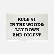 Rule #1 in the Woods: Lay Down and Digest Rectangl