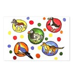 Animals Postcards (Package of 8)