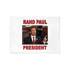 RAND PAUL 5'x7'Area Rug