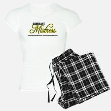 Dominant Mistress Title Pajamas