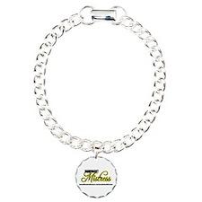 Dominant Mistress Title Bracelet