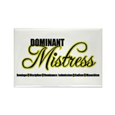 Dominant Mistress Title Rectangle Magnet