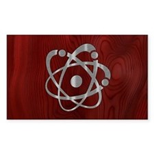 Chromium Atom Decal