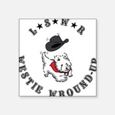 lone star westie Sticker