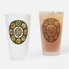 Celtic Wheel of the Year Drinking Glass