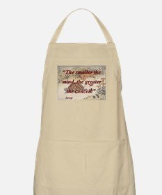 The Smaller The Mind - Aesop Light Apron