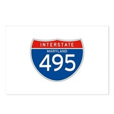 Interstate 495 - MD Postcards (Package of 8)