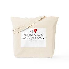 My Heart Hockey Tote Bag