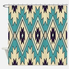 Native Chieftain Pattern Shower Curtain