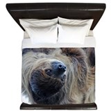 Sloth Luxe King Duvet Cover