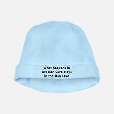 Man Cave baby hat